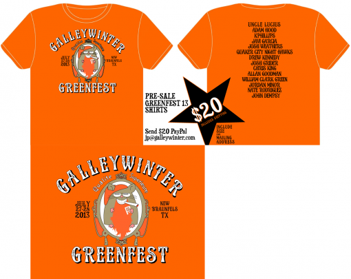greenfest2013Shirts