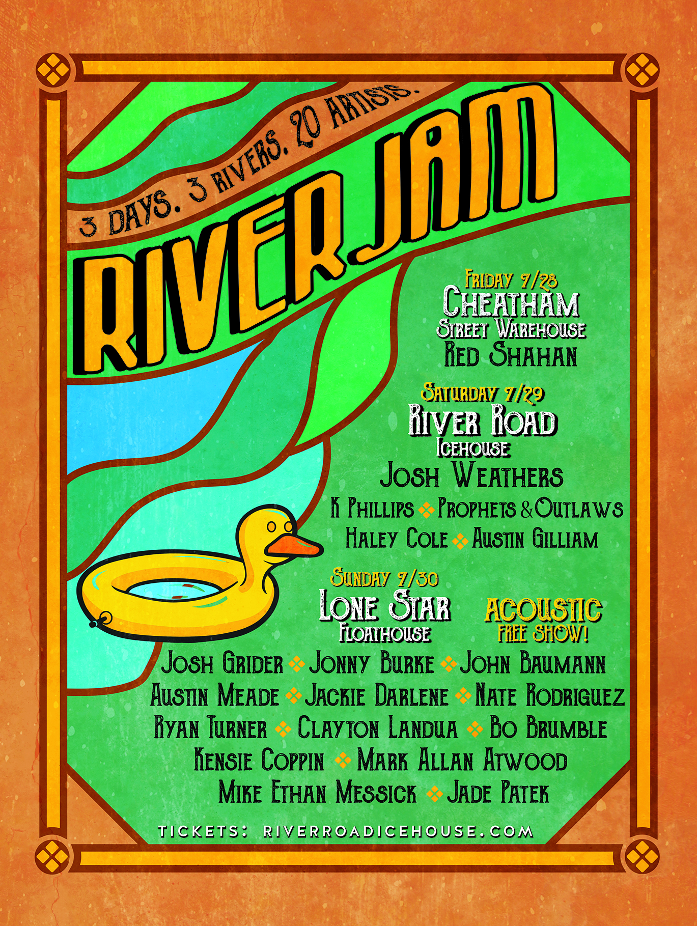 River Jam | Galleywinter